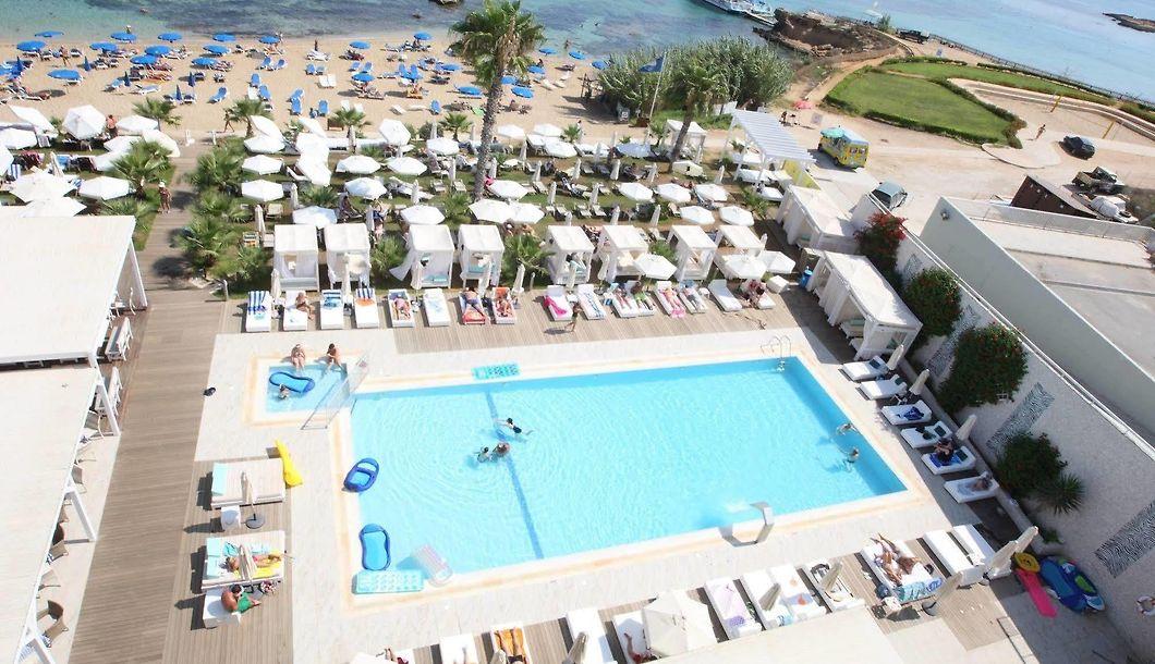 Silver Sands Beach Hotel Protaras Unterkunft Mit Blick Auf Das Meer